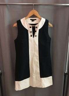 A vendre sur #vintedfrance ! http://www.vinted.fr/mode-femmes/robes-de-soirees-and-cocktails/20296126-robe-zara-noir-et-blanche