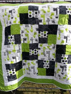 Baby Boy Quilt Patterns, Beginner Quilt Patterns, Quilt Block Patterns, Baby Quilts Easy, Baby Boy Quilts, Quilting Projects, Quilting Designs, Quilting Ideas, Sewing Projects
