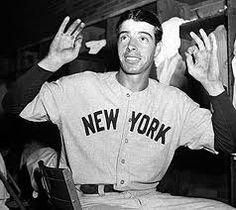 Joe DiMaggio was born on November 25, 1914 in Martinez, CA and died on March 8, 1999 in Hollywood, FL. He played for the New York Yankees from 1936–1942 and 1946–1951. His number was #5. He was married to Marilyn Monroe from 1954-1954. Soon after that he married Dorothy Arnold from 1939–1944.