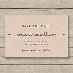 save the date printable template editable by you in word diy wedding rustic save the date Diy Save The Dates, Rustic Save The Dates, Wedding Save The Dates, Save The Date Cards, Save The Date Ideas Diy, Wedding Card Wordings, Wedding Cards, Diy Wedding, Rustic Wedding