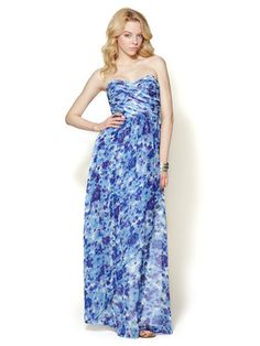 Pia Silk Maxi Dress