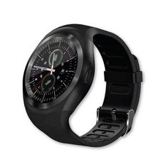 AMENON Bluetooth Smart Watch Wristwatch,Classical IPS Round Touch Screen Water Resistant Smartwatch Cellphone with SIM TF Card Slot Pedometer Fitness Tracker for Android Smart Phones Smartwatch, Shooting Camera, Twitter App, Cell Phones In School, Bluetooth Watch, Best Smart Watches, Gear Best, Track Workout, Workout Accessories