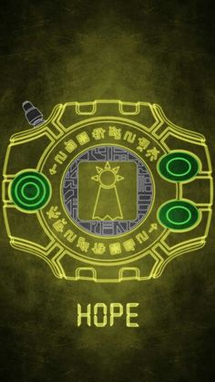 Digivice Crest Of Hope