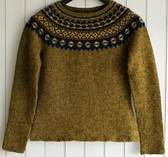 Pattern Free Icelandic Sweater