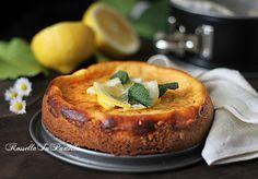 torta cremosa al limone, ricetta facile