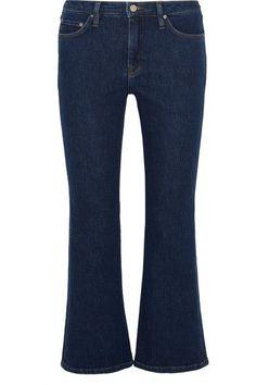 Victoria, Victoria Beckham - Mid-rise Flared Jeans - Dark denim - 25