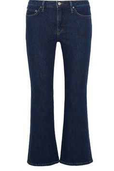 VICTORIA VICTORIA BECKHAM Mid-rise flared jeans. #victoriavictoriabeckham #cloth #jeans