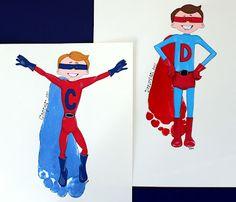 super hero feet