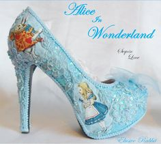 Alice in 1865 Something Blue Lace - Right Side