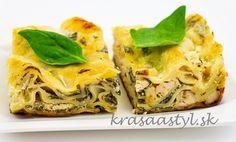 Lasagne s kuracím mäsom a špenátom: Recept aj pre začiatočníkov Spanakopita, Ethnic Recipes, Food, Lasagna, Essen, Meals, Yemek, Eten