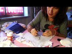Piccolo tutorial di pittura su stoffa... - YouTube