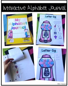 Journaling is a great way for your small groups to practice their phonics and letter tracing. The printable worksheets are fun and interactive and can be used in literacy stations, small groups or sent home! #kindergarten #games #finemotor