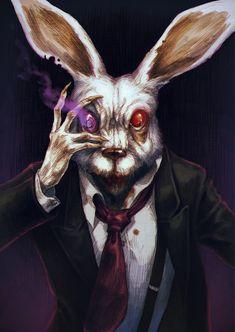 Bunny Bunny by MadLittleClown.deviantart.com on @deviantART
