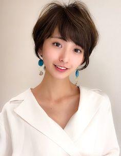 Asian Woman, Asian Girl, Asian Ladies, Cute Hairstyles, Cute Girls, Short Hair Styles, Female, Lady, Womens Fashion