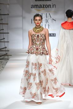 Samant Chauhan | Amazon India Fashion Week Spring/Summer 2016 #Indiancouture #PM