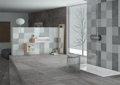 Cemento estampado en 22 diseños aleatorios, 60 x 60 cm #PiensaProinter