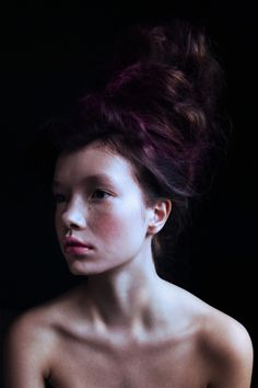 The Melt for Bast-Magazine by Polina Vinogradova, via Behance