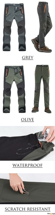 US$41.99 + Free Shipping. Pants, Outdoor Pants, Thick Pants, Warm Pants, Mens Waterproof Pants, Pants for Camping, Pants for Climbing. Color: Olive, Gray. Time to Suit Up!