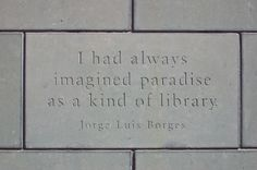 Paradise as a kind of library