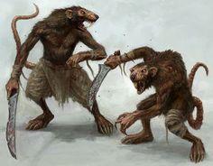 Skaven, slave rats
