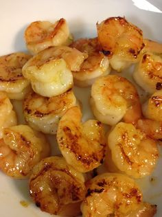 Honey Lime Shrimp! Made it dinner tonight, in lettuce wraps as a taco shell substitute...so easy and delicious! A combo of spicy and sweet!