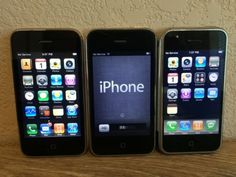 Lot of 3 Apple iPhones - First Gen 3G and 3Gs-----Working condition | eBay