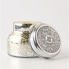Anthropologie candle jar