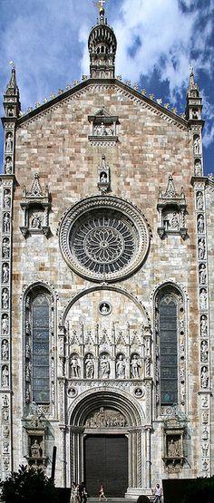 'Duomo di Como' Cattedrale di Santa Maria Assunta, city of Como, Lombardi, Italy