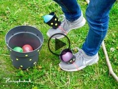 Upcycling ideas for children's birthday parties, part 2 - honey kukuk - DIY Kindergeburtstag Spiele - Pinnwand Birthday Games, Diy Birthday, Birthday Parties, Garden Birthday, Birthday Hair, Birthday Ideas, Water Bombs, Diy And Crafts, Crafts For Kids