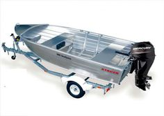 Hmmm, can see myself in this | Stacer 379 Seasprite |  #Boating #Boats #OpenBoats #StacerBoats #StacerBoatsforSale