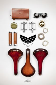 "bsandw: "" Bicycle Store Heritage Paris (vía PACKSHOT 