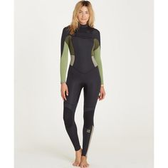 Form and function meet in Billabong's superior Synergy chest zip wetsuit.  An updated, ultra