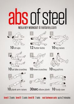 30 Days To Six-pack Steel Abs Workout. – Beauty&fitness with A.bari 30 Days To Six-pack Steel Abs Workout. – Beauty&fitness with A.bari,Exercise 30 Days To Six-pack Steel Abs Workout. – Beauty&fitness with A. Neila Rey Workout, 6 Pack Abs Workout, Abs Workout Video, Ab Workout Men, Best Ab Workout, Abs Workout Routines, Ab Workout At Home, Workout Guide, Workout Fitness