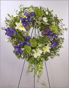 funeral flowers images | Sympathy, Wreaths, Funeral Flower Arrangements