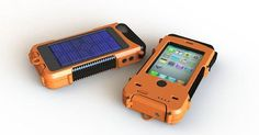 Snow Lizard has unveiled their ultra-rugged, solar-powered and waterproof iPhone case, perfect for outdoor warriors.