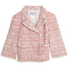 Chanel Tweed Jacket found on Polyvore