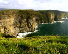 Cliffs of Moher - incredible. Favourite place in Ireland. Makes you realise how powerful nature is and how much you're at its mercy...