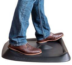 Topo The Not-Flat Standing Desk Anti-Fatigue Mat with Calculated Terrain Blender 3d, Best Standing Desk, Standing Desks, Anti Fatigue Kitchen Mats, Inkscape Tutorials, Gadgets, Stand Up Desk, Balance Board, Desk Mat