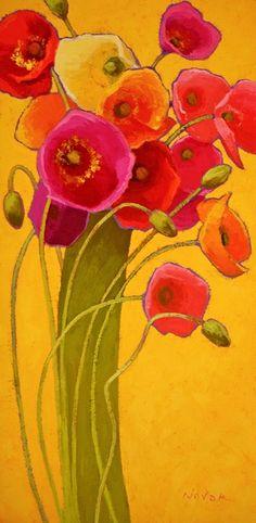 Amapola Barcelona II Shirley Novak #poppies