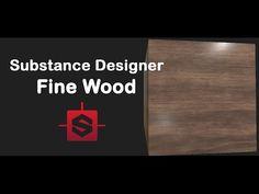 Substance Designer - Luxury Wood Tutorial - YouTube