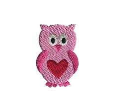 For Valentines Day or any day. Valentine Ideas, Valentines, Cockatiel, Owls, Flamingo, Machine Embroidery, Rooster, Fox, Birds