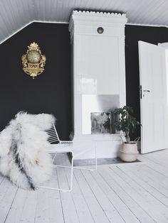 Klassiskt modernt i svartvitt