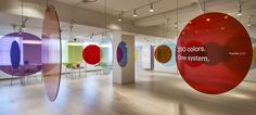 cercles couleurs 3form showroom by Standard Issue, Chicago – Illinois » Retail Design Blog