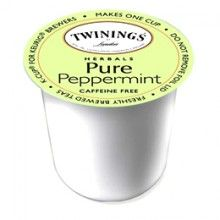 #Twinings Pure #Peppermint - It's #caffeine #free, making it perfect for unwinding after a long day!