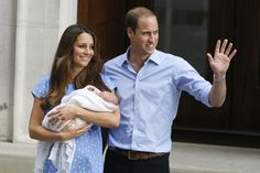 Last Minute Halloween Ideas for Couples: The Royals (baby blue dress, blue collared shirt and a swaddled baby doll)
