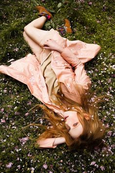 The Urban Magazine May 2012 Photoshoot Stars a Romantic Klara Gro #photoshoots #fashion trendhunter.com