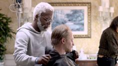 Watch how young bloods Kyrie Irving & Kevin Love make the transformation into Uncle Drew and Wes in this behind the scenes look at the making of Uncle Drew: . Basketball Videos, Kevin Love, Young Blood, Kyrie Irving, Pepsi, Behind The Scenes, Draw, To Draw, Sketches
