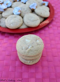 White Chocolate Peanut Butter Pudding Cookies