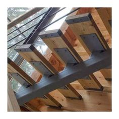 Wooden steps for iron stairs Stairway Decorating iron stairs Steps Wooden Stairs Ideas Decorating iron stairs Stairway steps wooden Steel Stairs Design, Home Stairs Design, Stair Railing Design, Staircase Railings, Interior Stairs, Stairways, Staircase Remodel, Spiral Staircase, Stairway Decorating