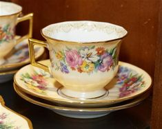 Buy online, view images and see past prices for Thirty-Nine Piece Limoges Porcelain Dessert Service, 20th c., by Charles Ahrenfeldt, consisting of 12 cups, 12 saucers, 11 cake plat.... Invaluable is the world's largest marketplace for art, antiques, and collectibles.